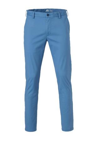 slim fit chino blauw