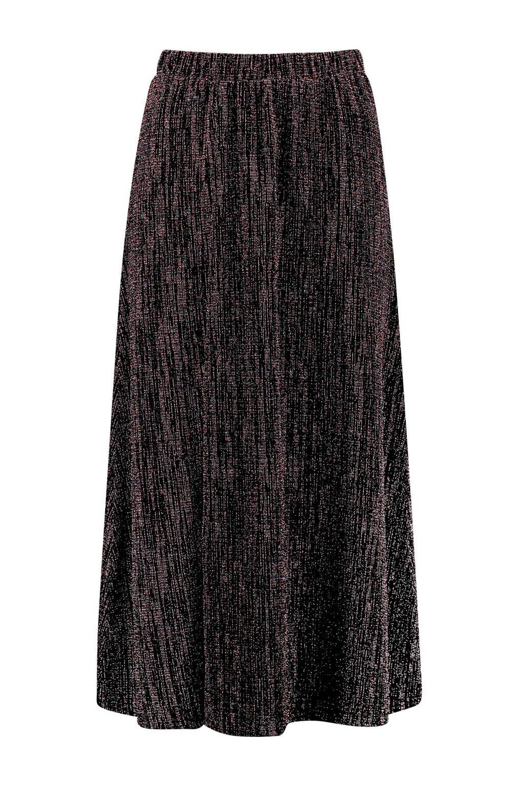 CKS rok zwart multi