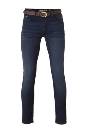 slim fit jeans SEAHAM-COATED 5855 midnight blue
