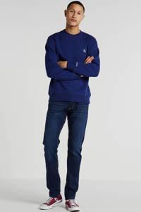 CALVIN KLEIN JEANS sweater met logo donkerblauw, Donkerblauw