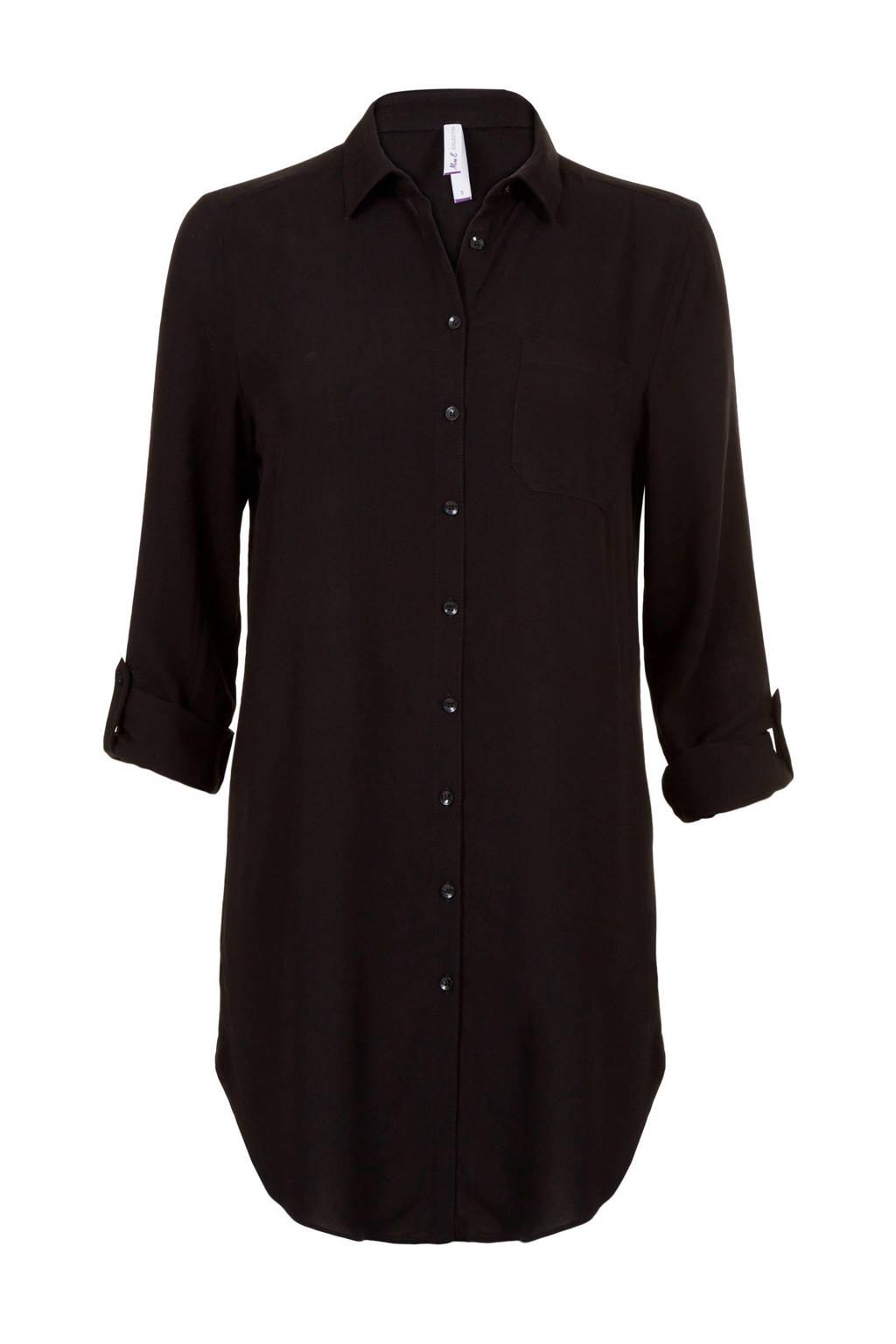 Miss Etam Regulier blouse zwart, Zwart