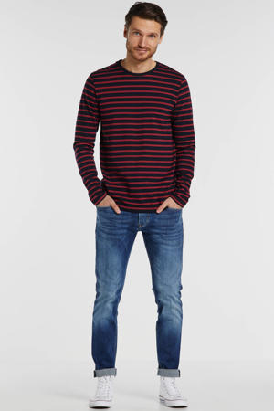 tapered fit jeans Stanley denim