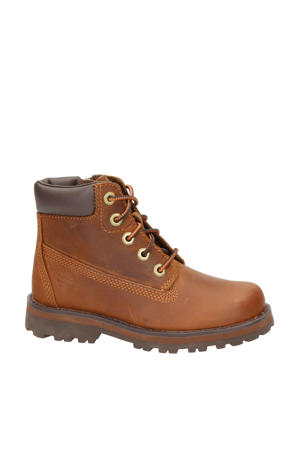 Courma Kid 6 Inc  nubuck veterboots cognac