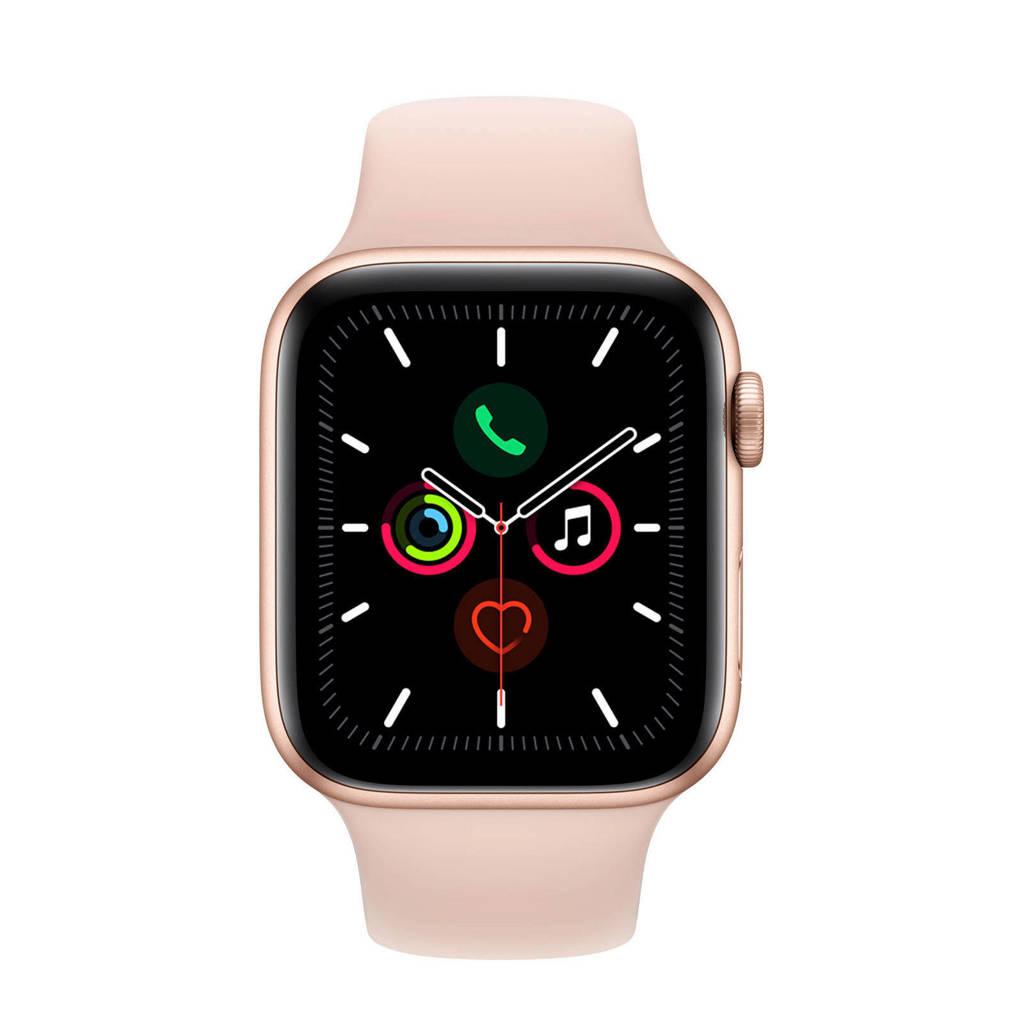 Apple Watch Series 5 44mm smartwatch roségoud, N.v.t.
