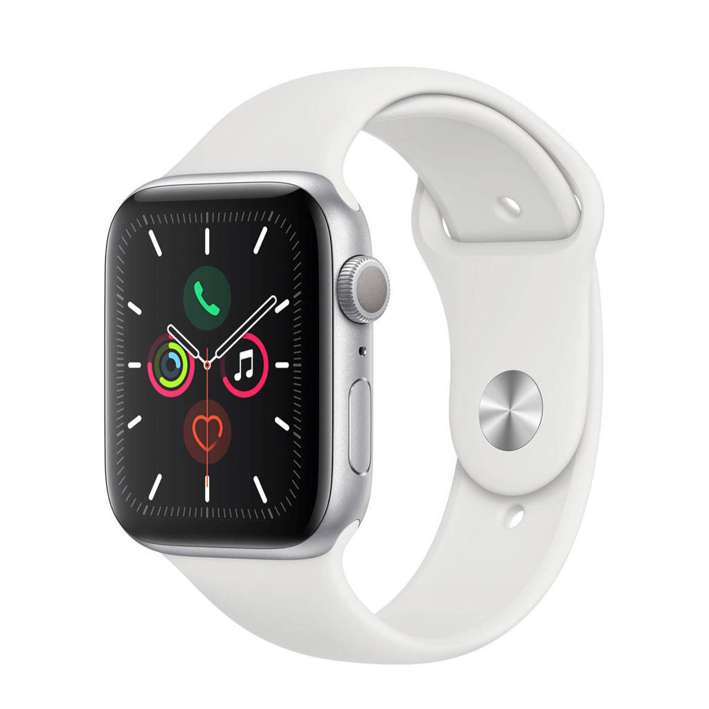 Apple Watch Series 5 44mm smartwatch zilver, N.v.t.