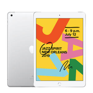 iPad 2019 32GB Wifi + 4G Zilver