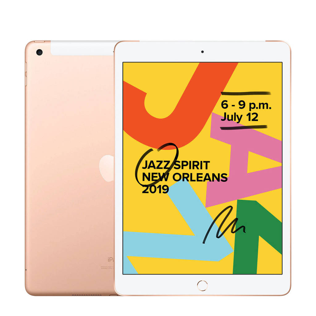 Apple  iPad 2019 128GB Wifi + 4G Goud