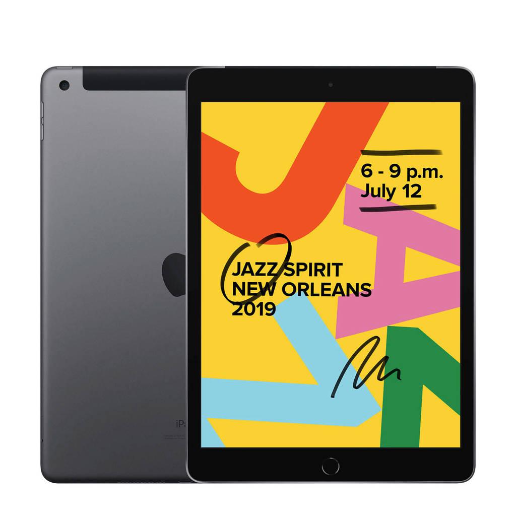 Apple  iPad 2019 128GB Wifi + 4G Space Grey, Grijs