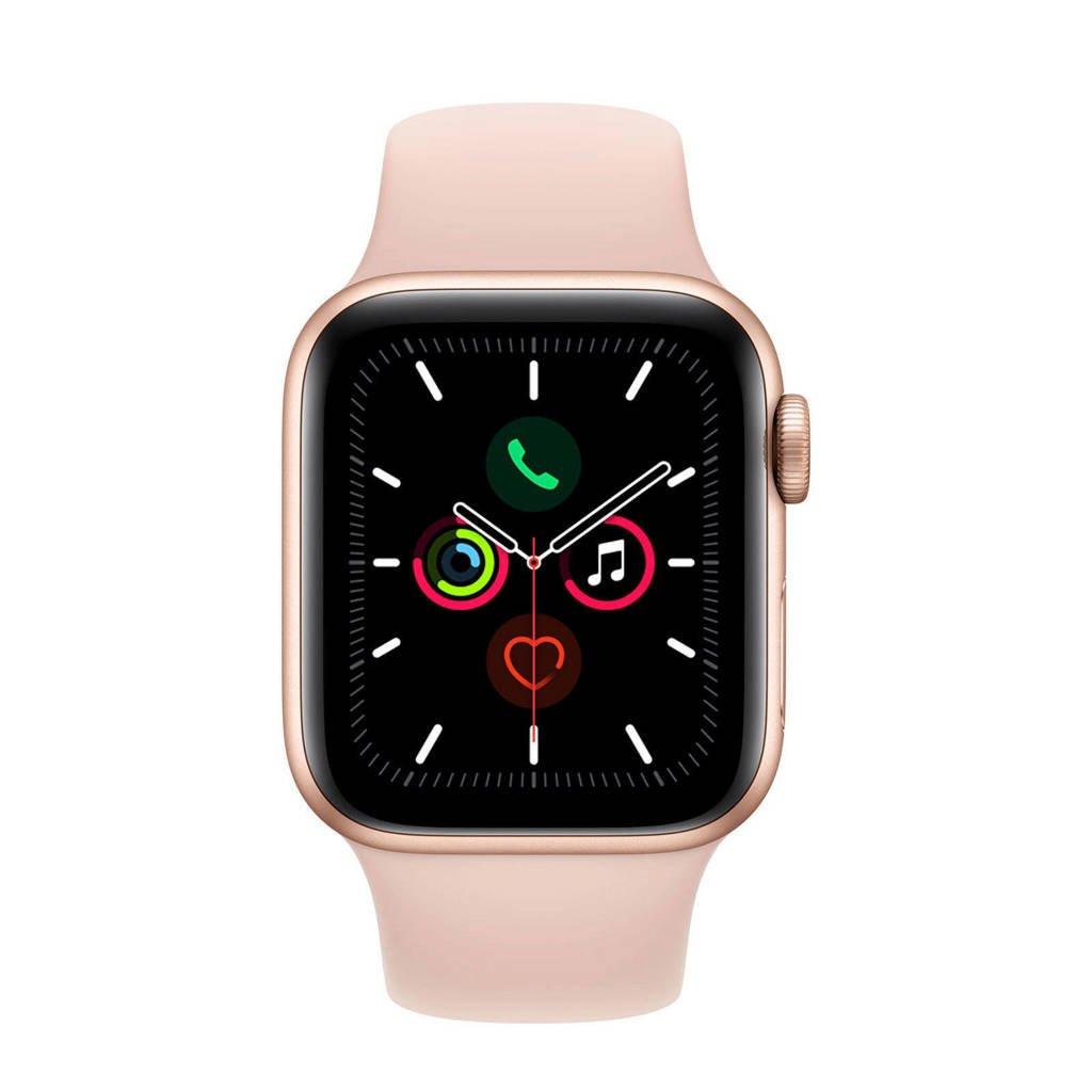 Apple Watch Series 5 40mm smartwatch goud, Goud