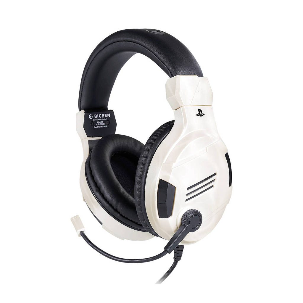 BigBen  Stereo gaming headset V3 wit, Wit
