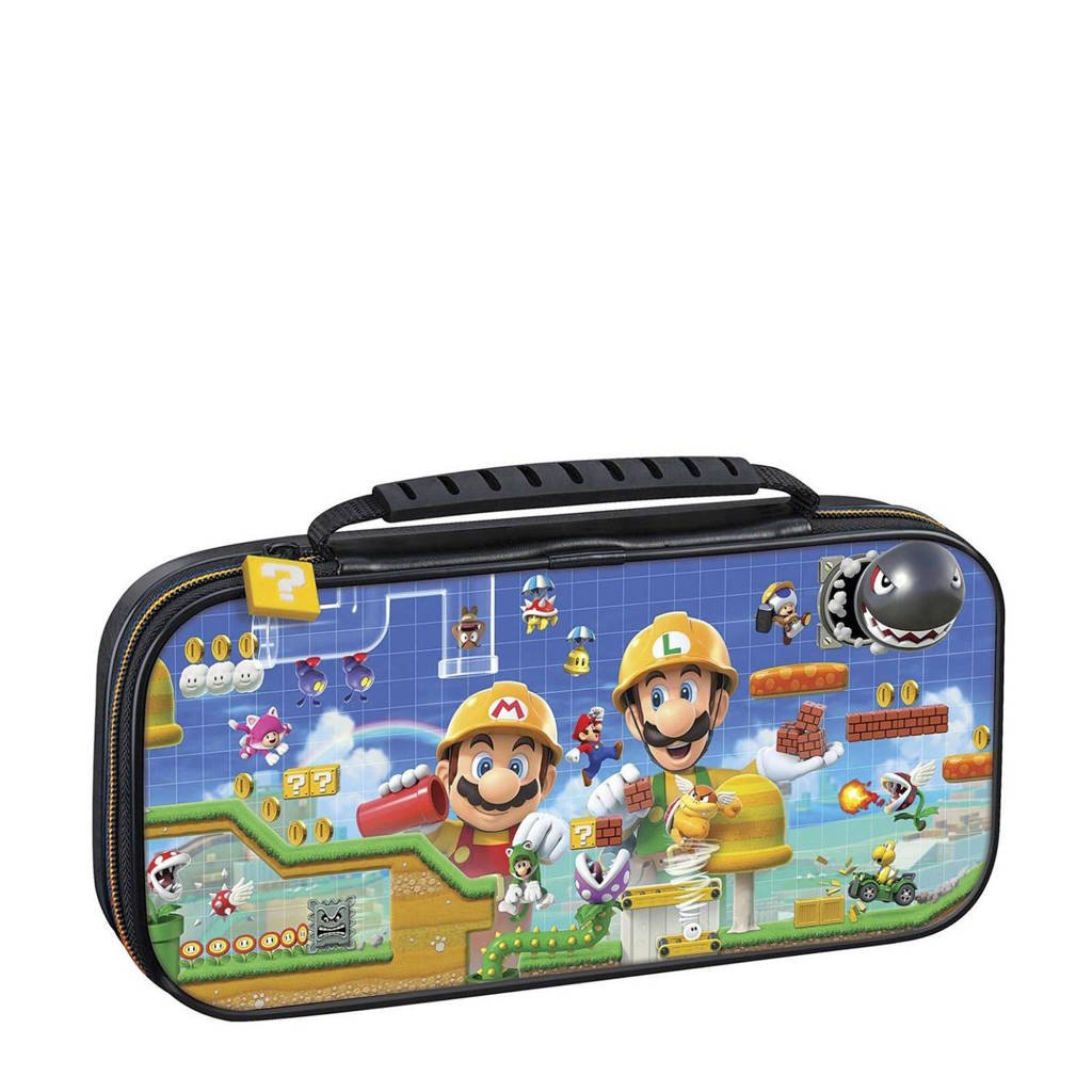 BigBen Nintendo Switch Super Mario Maker 2 travelcase, Zwart