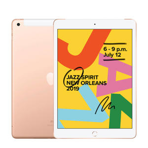 iPad 2019 32GB Wifi + 4G Goud