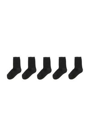 sokken - set van 5 zwart