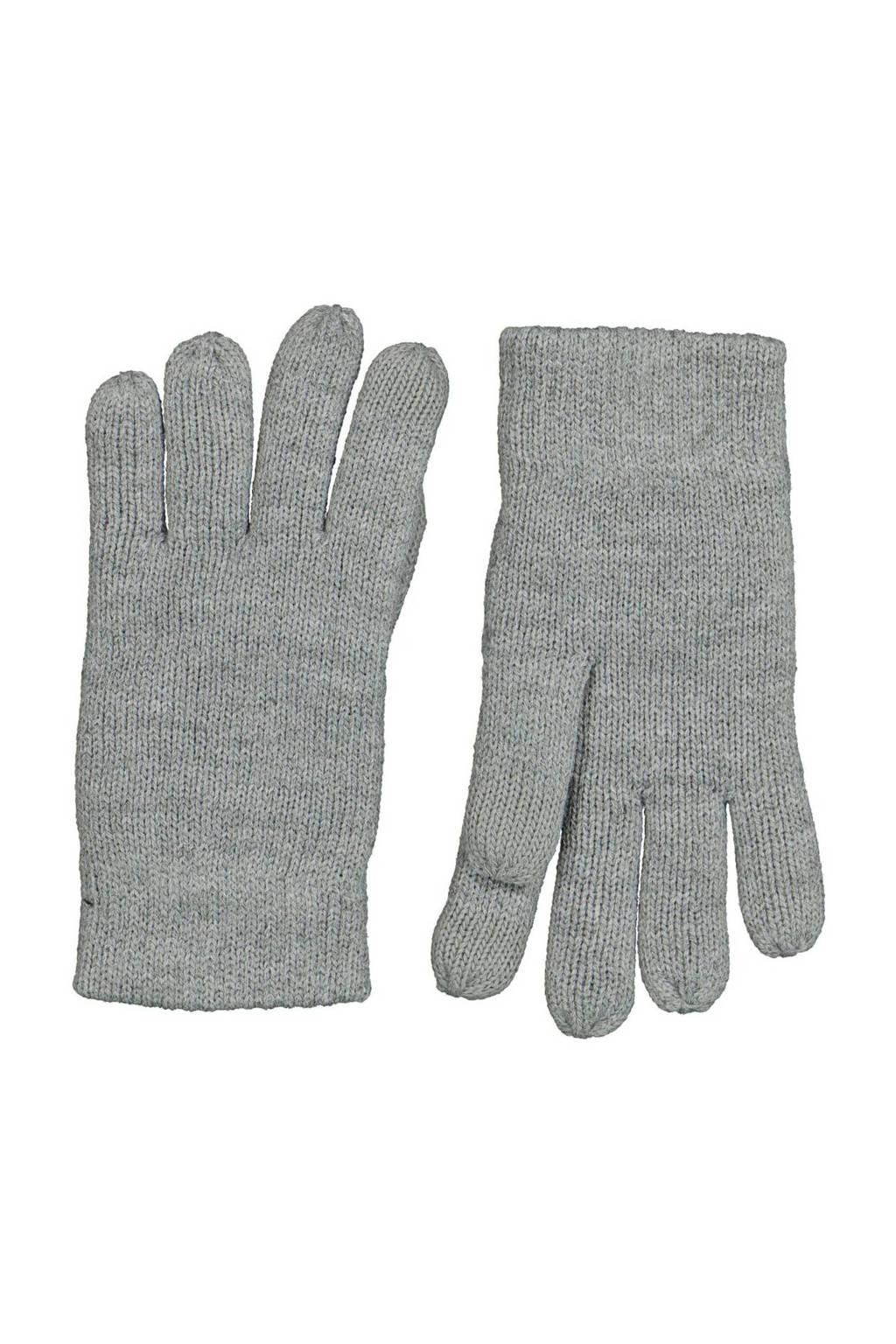 HEMA kinder handschoenen touchscreen grijsmelange, Grijs