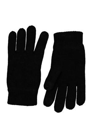 kinderhandschoenen touchscreen zwart