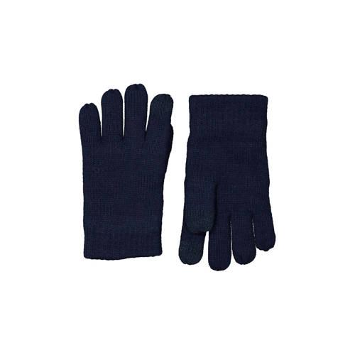 HEMA kinderhandschoenen touchscreen donkerblauw