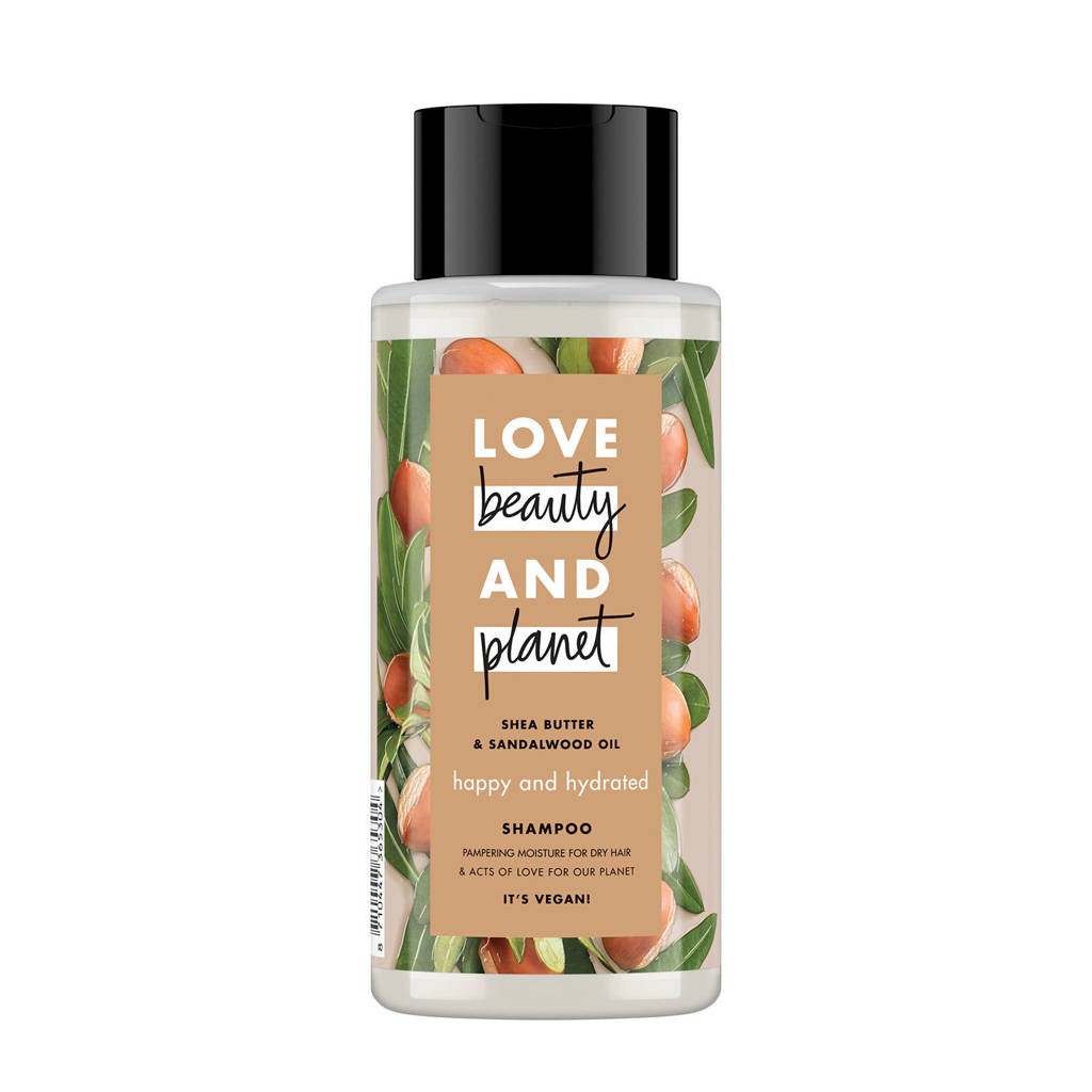 Love Beauty and Planet Shea Butter & Sandalwood happy and hydrated shampoo - 400 ml