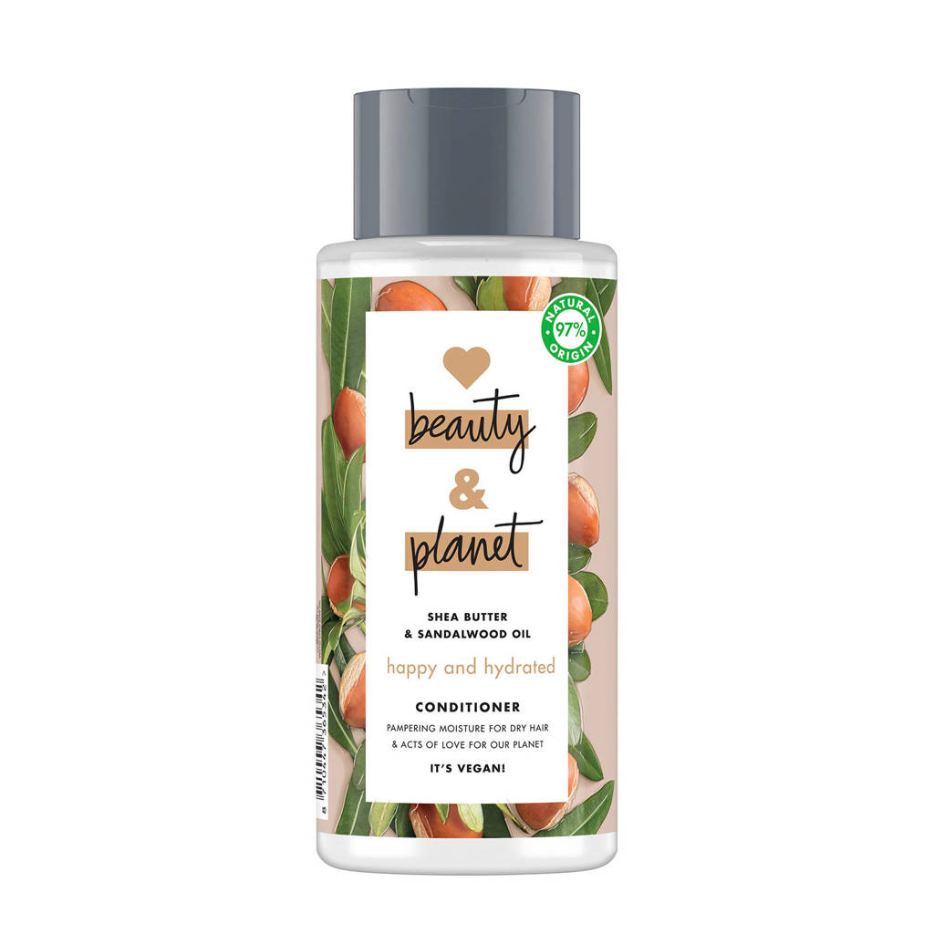 Love Beauty and Planet Shea Butter & Sandalwood happy and hydrated conditioner - 400 ml