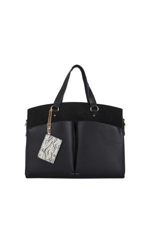 bag in bag shopper zwart