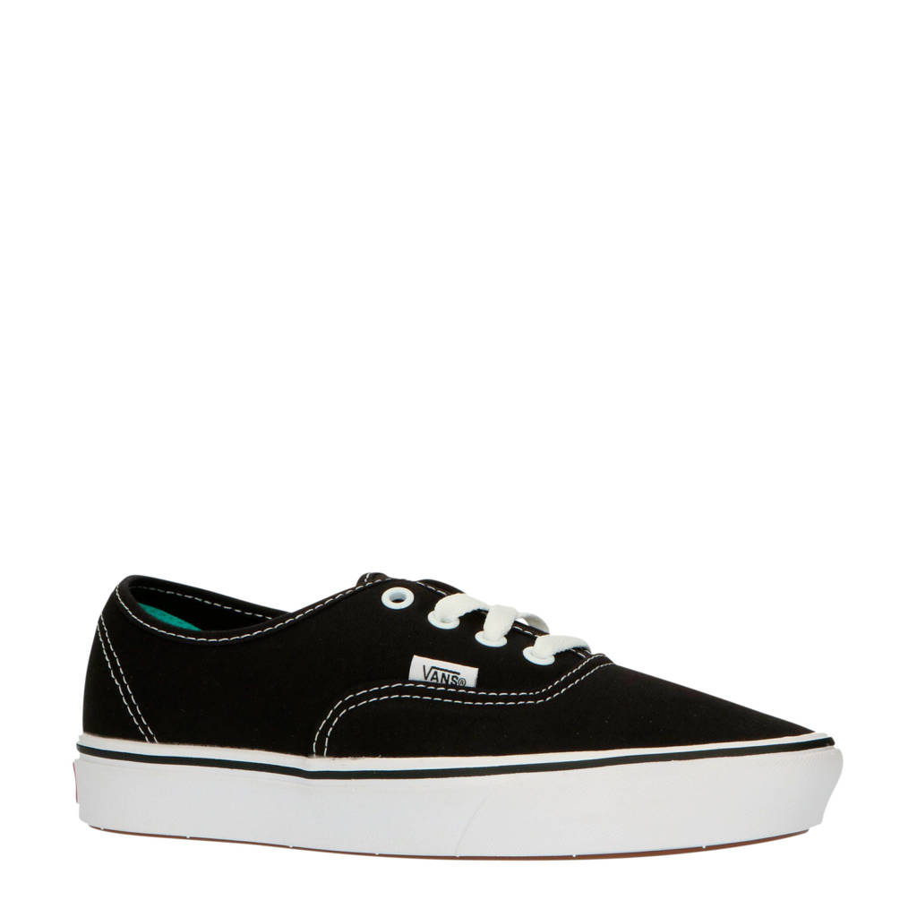 VANS ComfyCush Authentic  sneakers zwart/wit, Zwart/wit