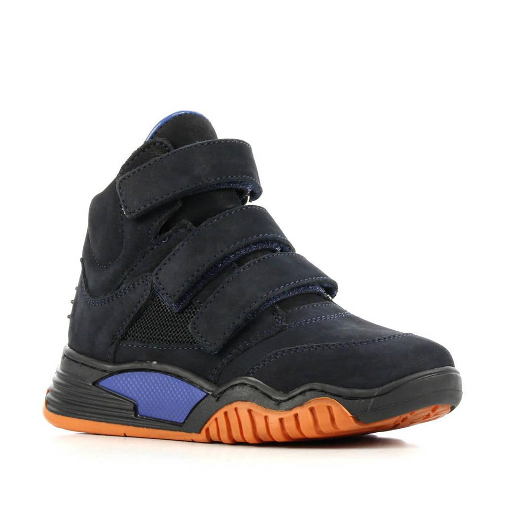Hip H1093  suède sneakers donkerblauw, Donkerblauw