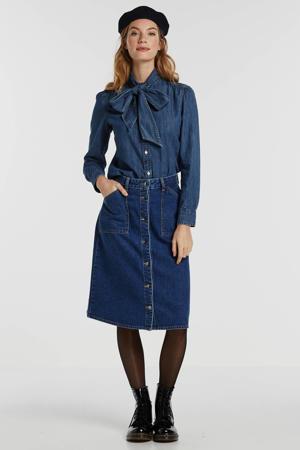 A-lijn rok Jenny blauw