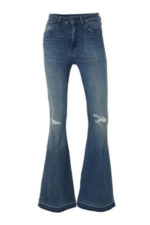 high waist flared jeans Gwena blauw