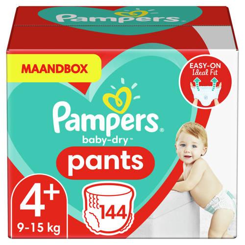 Pampers Baby-Dry Pants maandbox maat 4+ (9-15 kg)