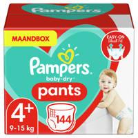 Pampers Baby-Dry Pants maandbox maat 4+ (9-15 kg) 144 luierbroekjes