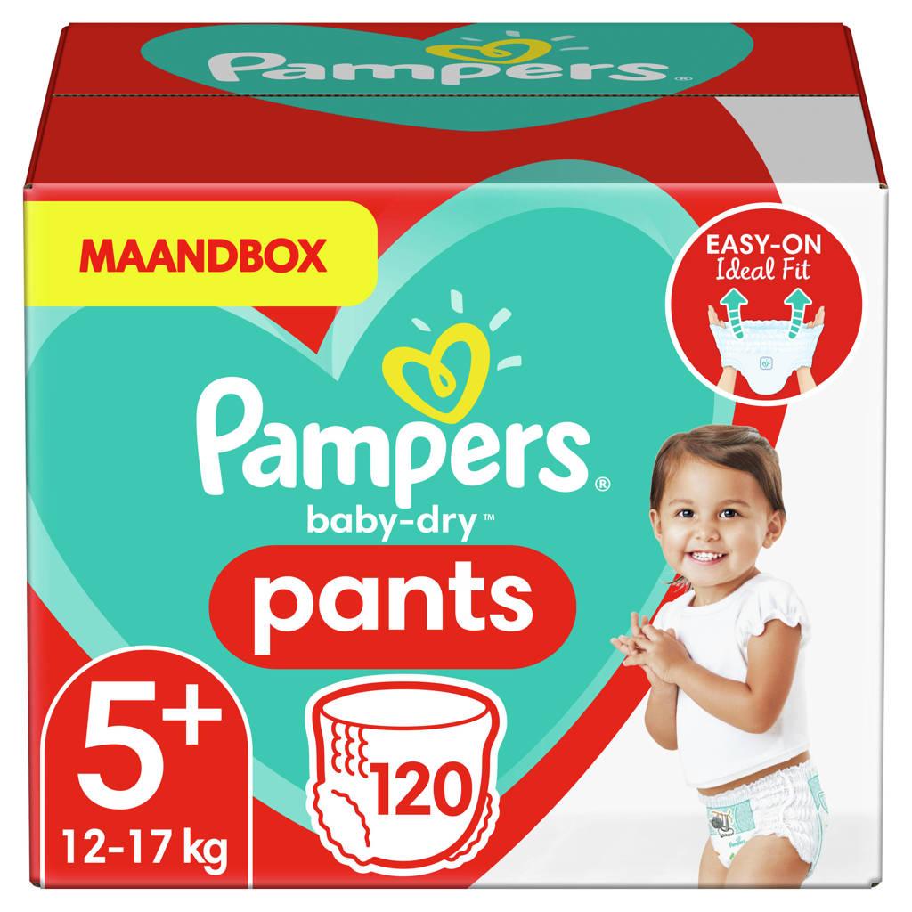 Pampers Baby-Dry Pants maandbox maat 5 (12-17 kg) 120 luierbroekjes