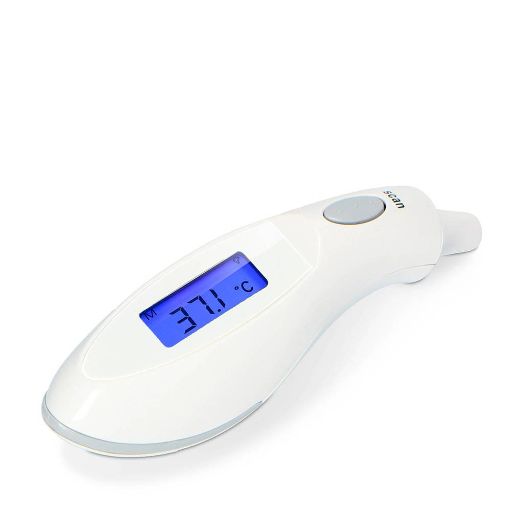 Alecto  BC-27 infrarood oorthermometer, Wit