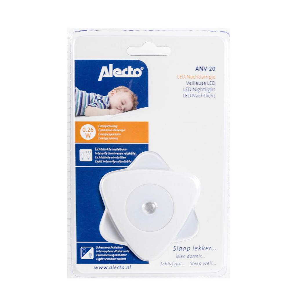 Alecto ANV-20 automatisch LED nachtlampje, Wit