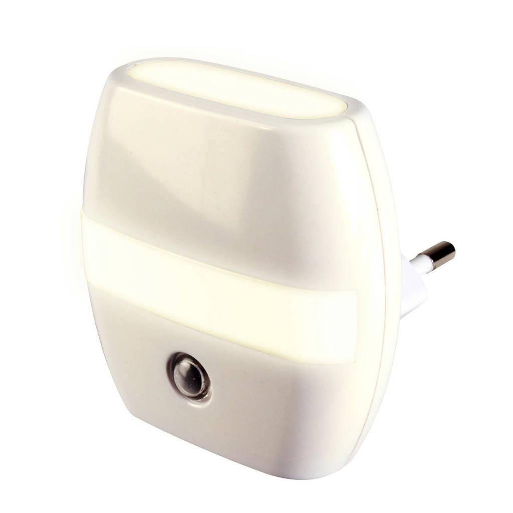 Alecto ANV-21 automatisch LED nachtlampje, Wit