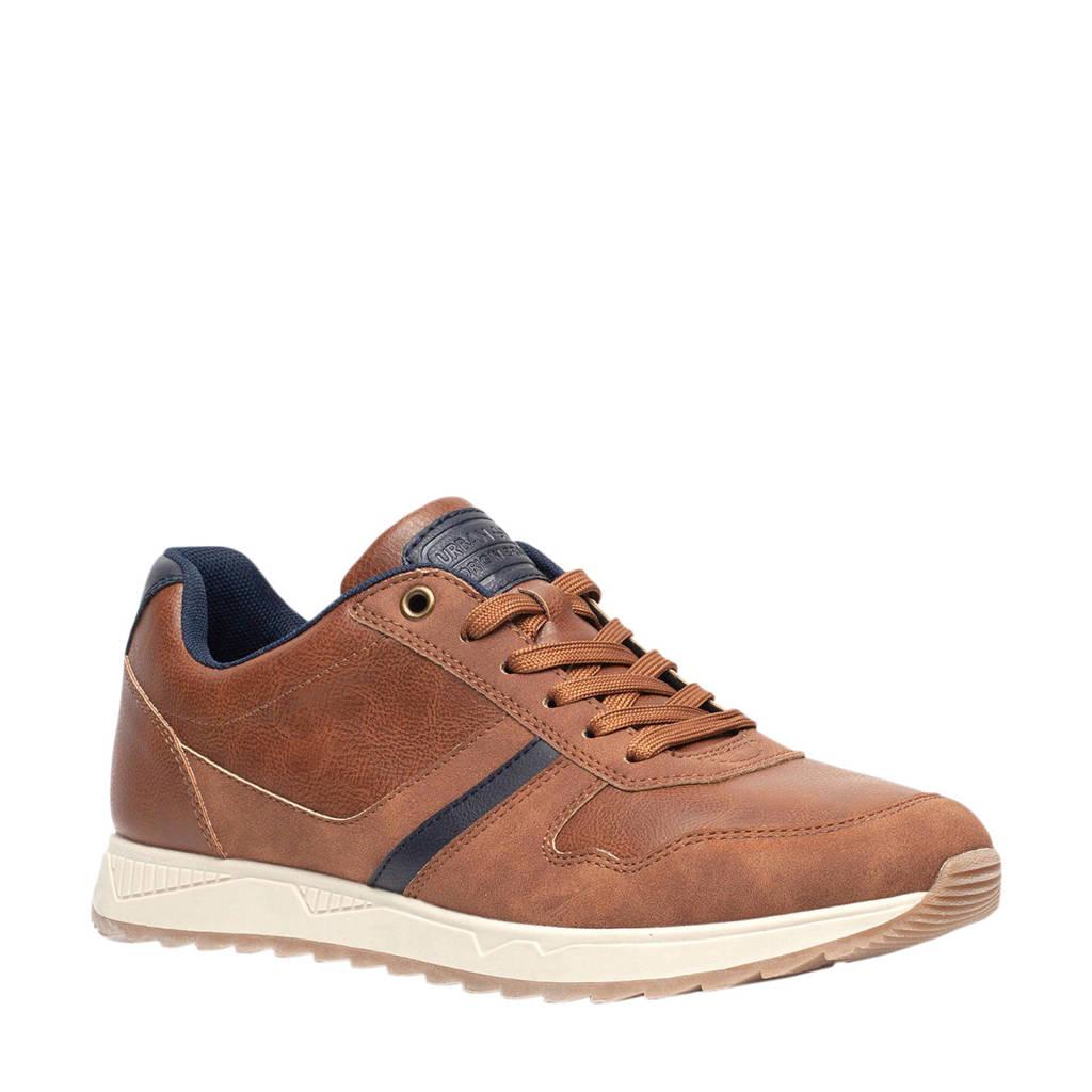 Scapino Blue Box   sneakers cognac, Cognac