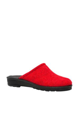 Blenzo pantoffels rood