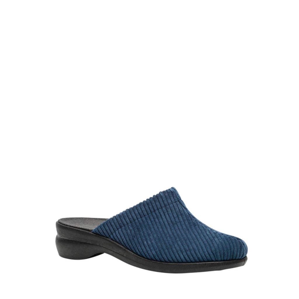 Scapino Blenzo pantoffels blauw, Blauw