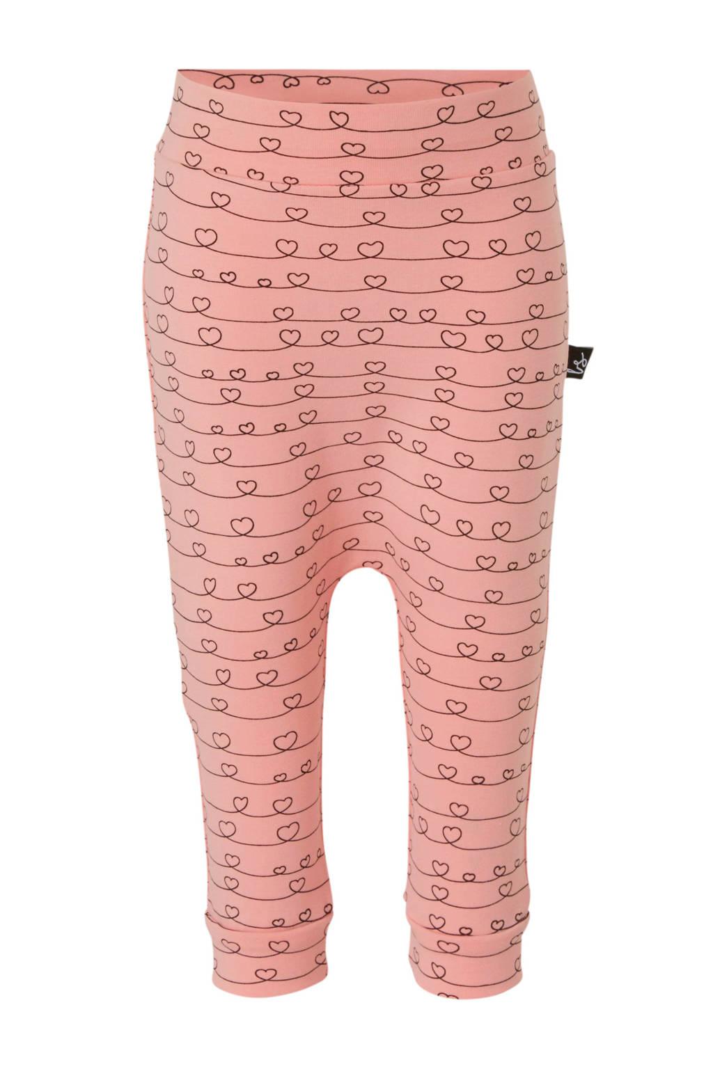 Babystyling broek roze/zwart, Roze