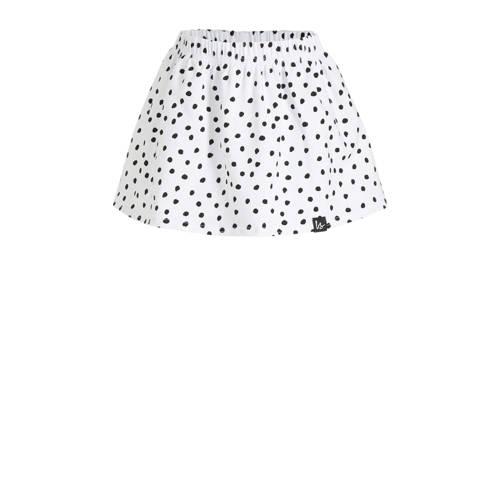 Babystyling rok met stippen wit/zwart