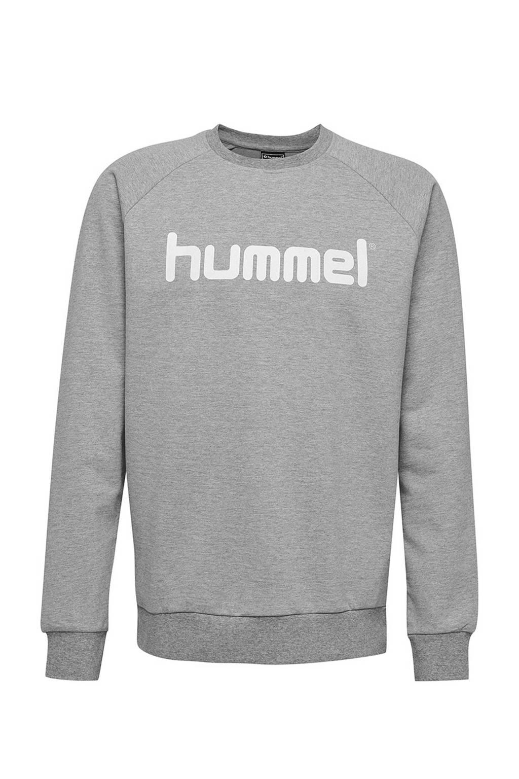 hummel unisex sweater grijs, Grijs