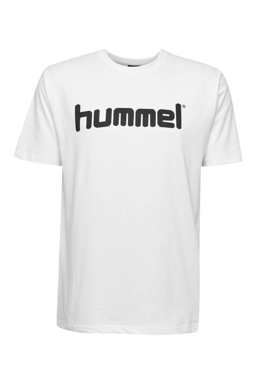 hummel T-shirt wit, Wit