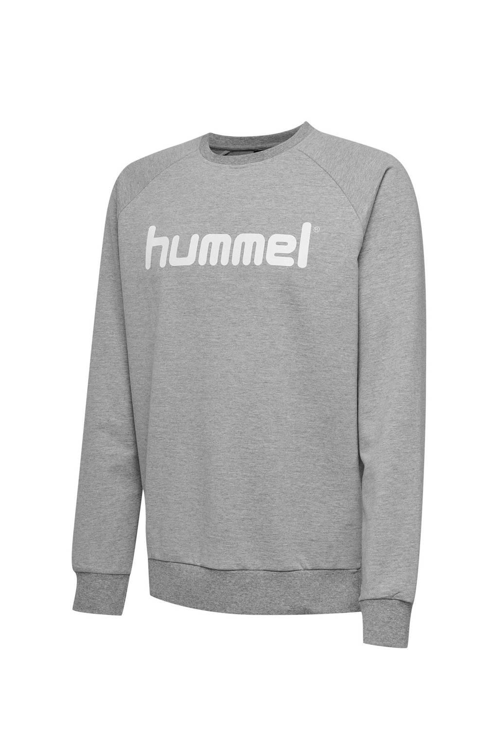 hummel sweater grijs, Grijs