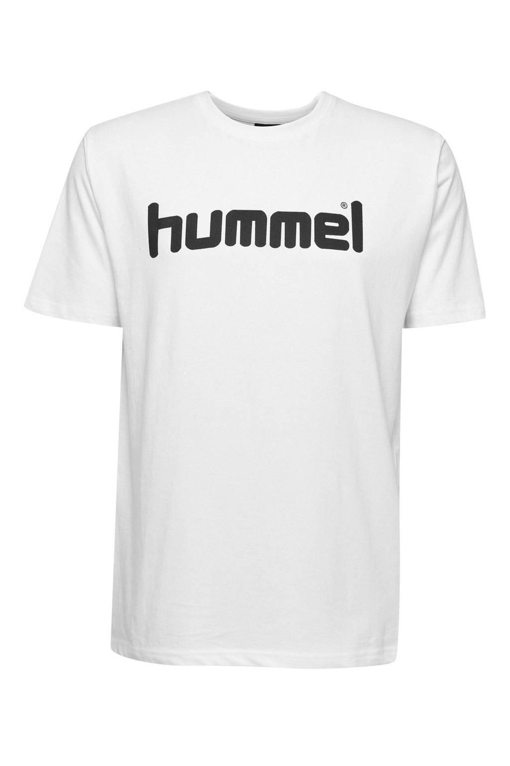 hummel   T-shirt wit, Wit, Heren