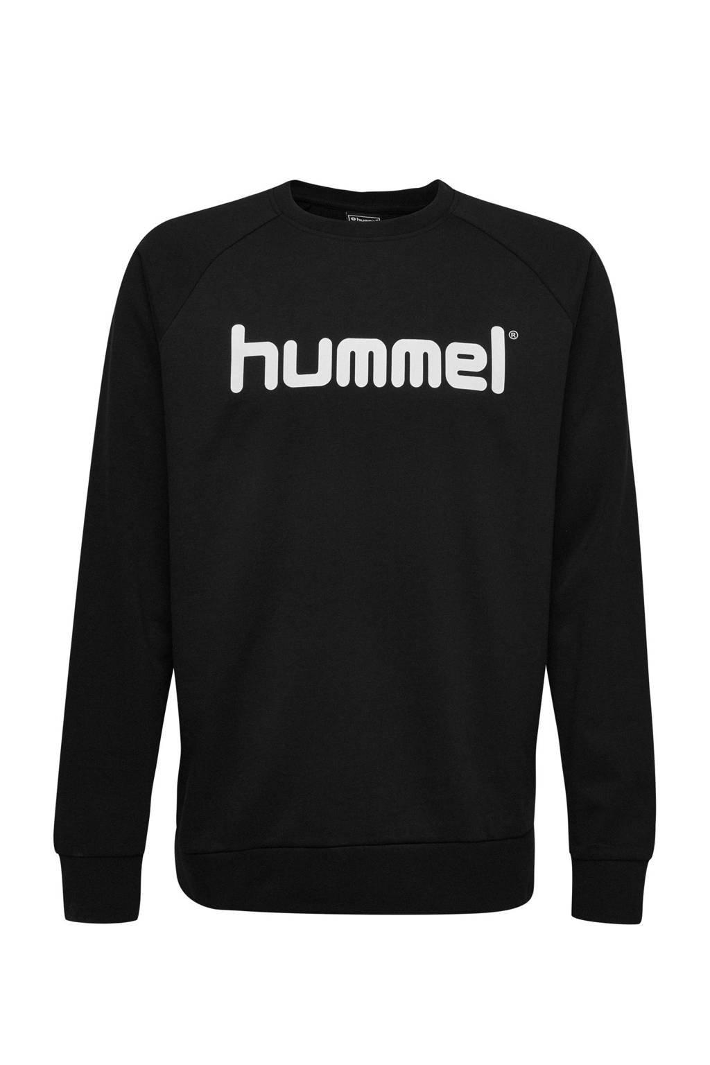 hummel   sweater zwart, Zwart