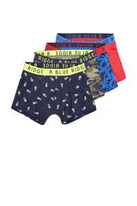 WE Fashion   boxershorts - set van 4 multicolor, Multicolor