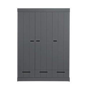 3-deurs kledingkast Connect