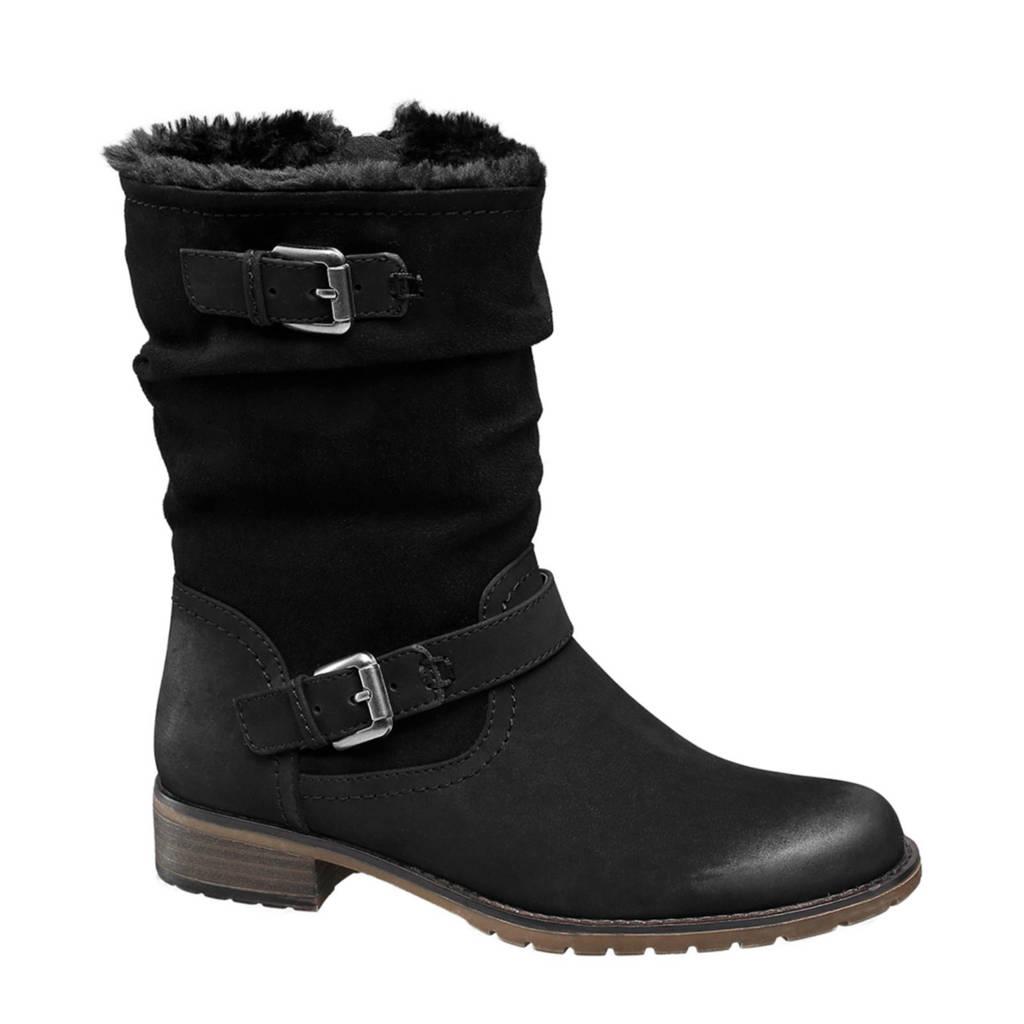 Graceland   laarzen zwart, Zwart