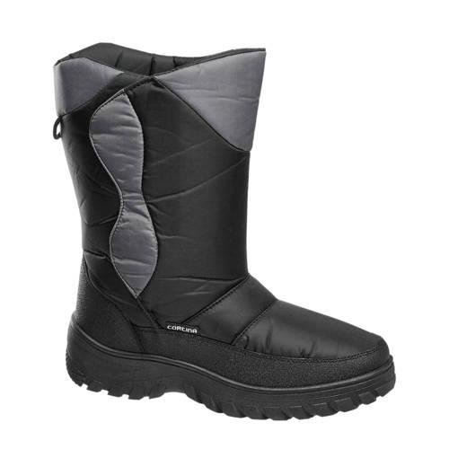 Cortina snowboots zwart-grijs