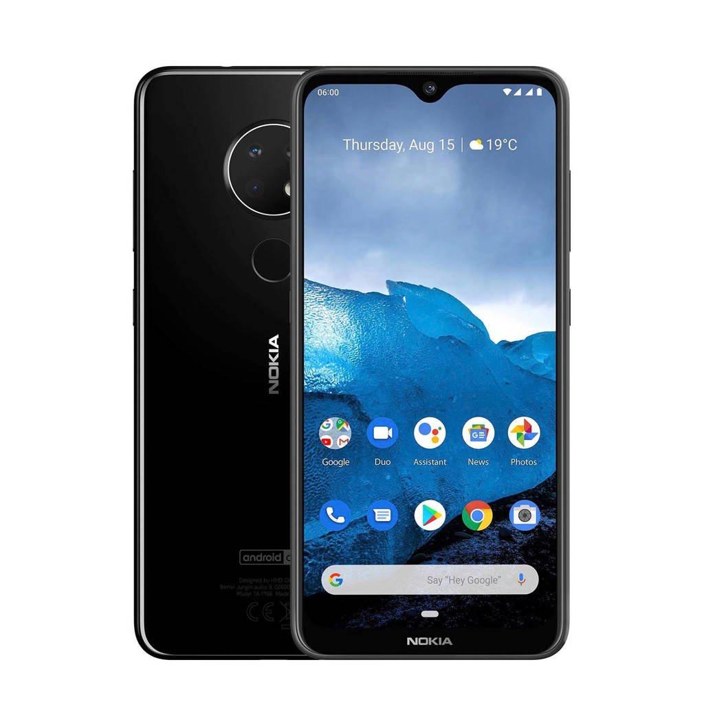 Nokia 6830AA002279 6.2 smartphone 64GB, Zwart