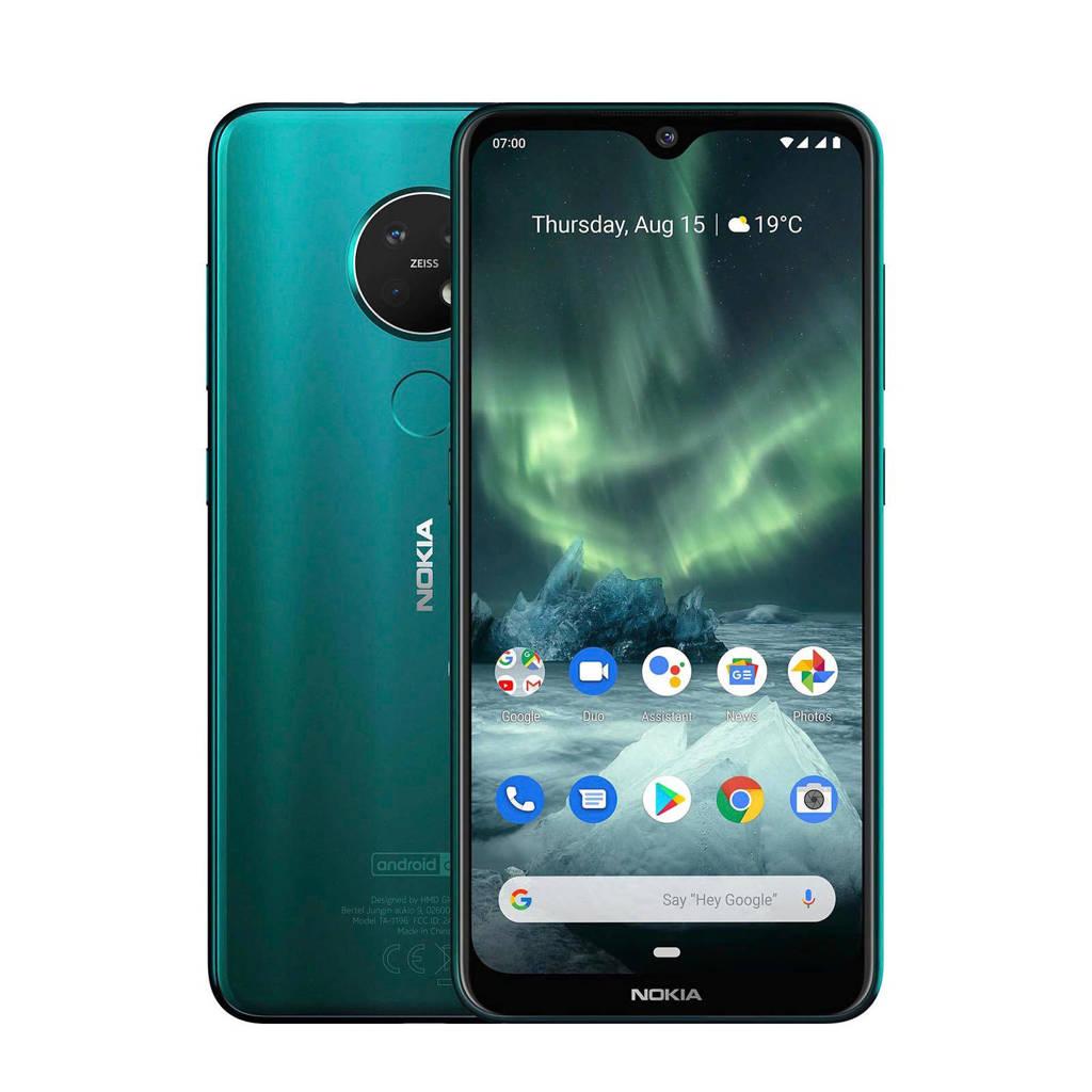 Nokia 7.2 cyaan groen, N.v.t.