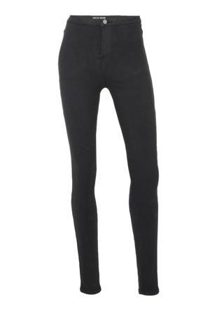 high waist skinny jegging zwart